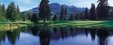 Arnold Palmer Golf course at Whistler